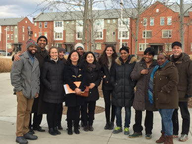 NIMC Team and Residents of Rivertown Mixed-Income Development